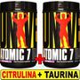 Atomic 7 Universal 824 Grs Bcaa Glutamina Taurina Citrulina
