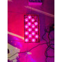 Cordão Natalino Natal 30 Flores Led Pink Pisca Pisca 4,5m 8f