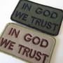 Patch Bordado In God We Trust-ato De Coragem Militar Tático