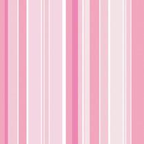 Adesivo De Parede Rosa Listrado Menina Lavável Quarto 10 Met
