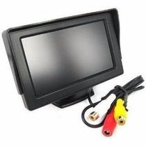 Tela Monitor Automotivo Lcd Tft 4.3 / Carro Camera De Ré