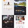 465 Plantillas Web Profesionales Editables +bono