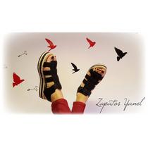 Sandalias Zapatos Mujer Plataforma Baja Verano 38 37 - Yanel
