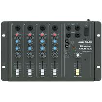 Mesa De Som 4 Canais Mixer Eq. 2 Bandas Mxm4s Ciclotron + Nf