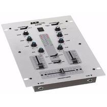 Mixer Skp Sm95 2 Canales + Eq Graves / Agudos Entrada Micro