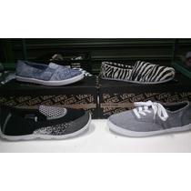 Zapatos Tipo Paseo Van Skechers Toms Unisex 35-38