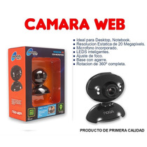 Camara Web Hd! Con Micrófono