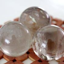 Esfera De Cuarzo Ahumado. Bola De Cristal De Cuarzo Ahumado