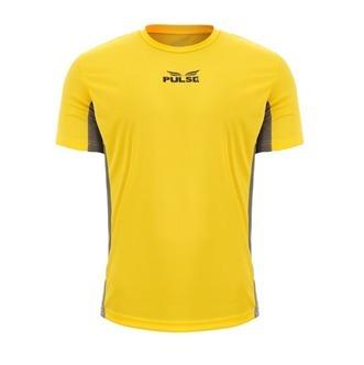 01f95e294 Camiseta Pulse Grupo Everlast Amarela Detalhe Cinza - R  34