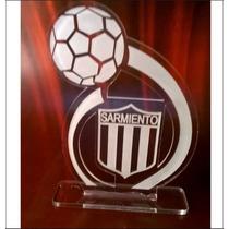 Souvenirs Cumple 18 Acrilico Trofeo 40 50 Años Futbol