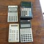 Lote Quatro Calculadoras Vintage Sedex R$8