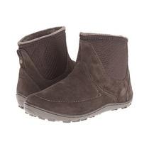Botas,columbia Minx Nocca Slip Boots,talla 7 Us,cafe,nueva