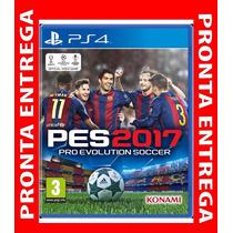 Pes 2017 Pro Evolution Soccer 2017 Ps4 M. Física Pre Venda