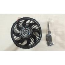Ventilador Universal 12 Slim, Radiador, Transmision, Turbo