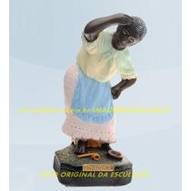 Escultura Preta Velha Mãe Benta Linda Imagem 30cm Promoção
