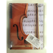 Caderno Cd Univ. De Musica 96fls Tilibra Pacote C/4 Unidades