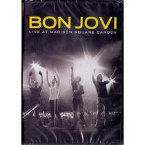 Bon Jovi Live At Madison Square Garden Dvd Lacrado Original