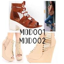 Sandalias Y Tacones Nuevos Modelos Importados!!(made In Usa)