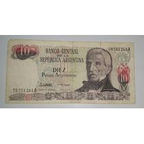 Billete 10 Pesos Argentinos Serie A *071