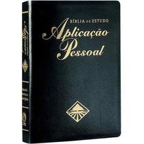 Bíblia De Estudo Aplicação Pessoal Grande Luxo Frete Grátis
