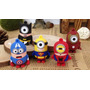 Memoria Usb De Minions Superheroes 8 Gb