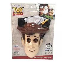 Kit Woody Mascara Y Pechera Toy Story Disney