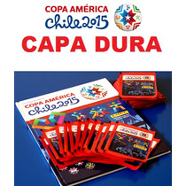 Álbum Capa Dura Copa América 2015 Completo Figurinhas Soltas