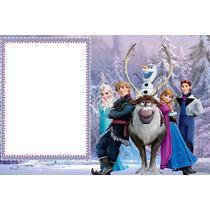 Painel De Aniversario Frozen + Foto 39,99(tecido Oxford)