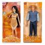 Boneca Pocahontas + Capitão John Smith Original Disney Store