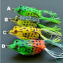 Isca Frog Sapo Rã Artificial Girino Anti Enrosco Traíra Piau