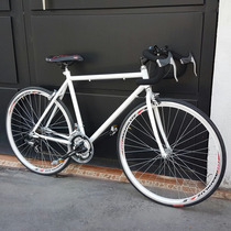Bicicleta Carrera 12 Velocidades Equipo Shimano Fixie Ruta U