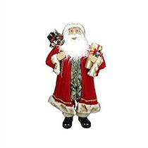Decoración La Figura 36 Elegancia Permanente De Santa Claus