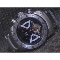 Relógio Airon Man Automático Safira Qualidade Superior