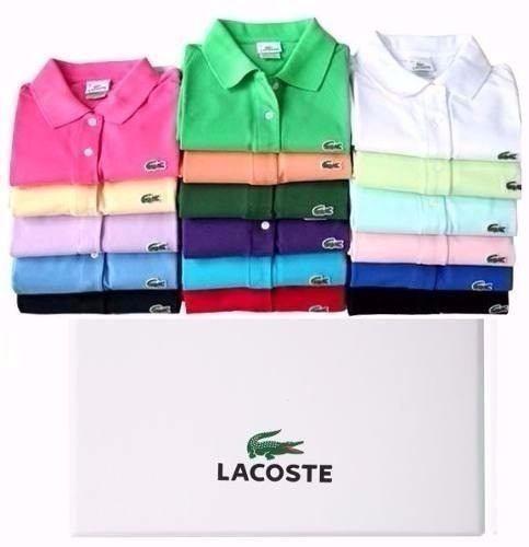 Kit 10 Camisas Polo Luxo Camisetas Masculinas Atacado - R  183,99 em  Mercado Livre e13a34c50c