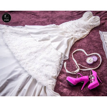 Oferta Vestido De Novia Casa De Bodas Con Armador