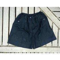 Short Vestir Vintage Talle L Negro Sin Detalles