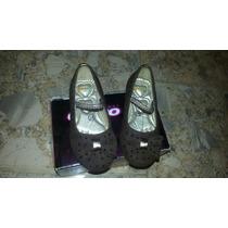 Zapatillas Color Marron Gimbo Talla 24 Nuevas