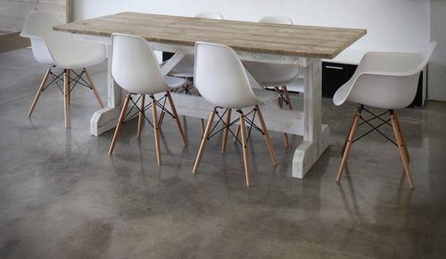 Decoracion Interiores Living Comedor Sillon Eames Blanco 3u ...
