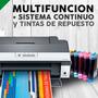 Impresora Epson T1110 A3 + Sist Cont Sublimación Scp + Tinta