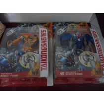 Kit 2 Bonecos Transformers Bumblebee Optimus Prime