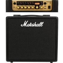 Cubo Para Guitarra Marshall Code25 25w Efeitos E Blutooth