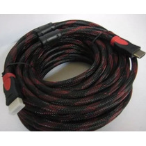 Cable Hdmi 10 Metros Fullhd 1080p Ps3 Xbox 360 Laptop Pc Led