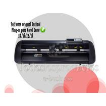 Plotter De Corte 61cm Corte Automatico Software Para Corelx7