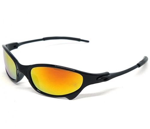 bf4a0606101de Óculos De Sol Oakley Juliet X-metal Preto Lente Amarela - R  139