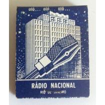 Caixa De Fósforos-10 Anos Da Radio Nacional-1955