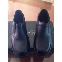 Zapatos Stork Man Modelo Camilo 2 - Cuero Negro Confort