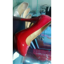 Hermosos Zapatos Tacon Alto
