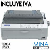 Impresora Epson Matriz De Punto Lq 590