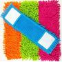 Refil Vassoura Chenille Mop Microfibra Esfregão Limpeza