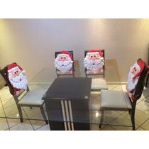 Kit Enfeite De Natal Para Cadeira Kit 6 Peças